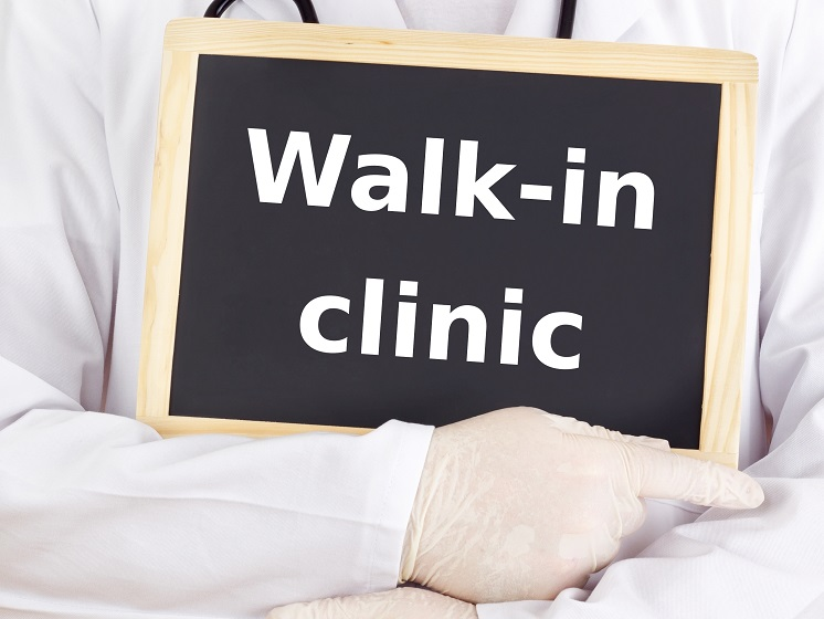 Walk-in clinics often provide walk-in physicals.