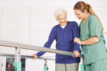 Physical therapy for seniors help them restore function as much as possible.