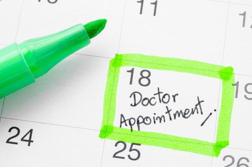 Be on time for your appointment at the family clinic.